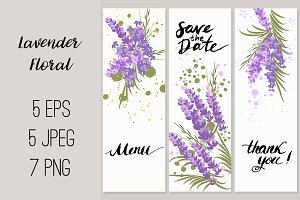 №193 Lavender Floral