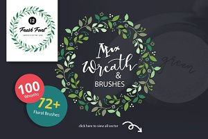 Mix Wreath Logo Kit