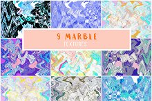 Marble Distortion Paper Texture Pack