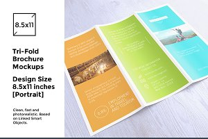 Tri-Fold Brochure / Flyer Mock-up's