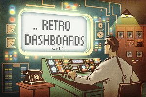 Retro Dashboards vol.1