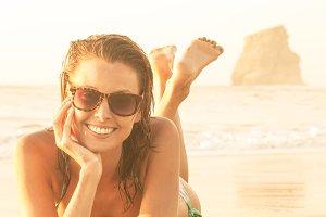 Smile at beach