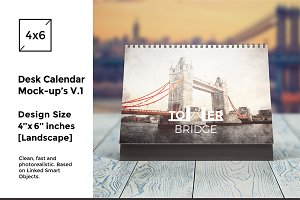 Desk Calendar Mock-Up's vol.1