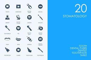 Stomatology icons