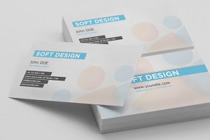 Soft Design Modern Business Card