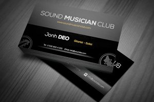 SMC A Musician Business Card