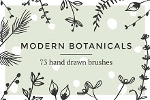 Modern botanical brushes