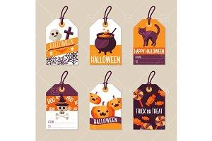 Halloween tags 1