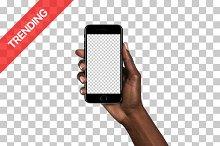 20x iPhone 7 mockups (Diverse Hands)