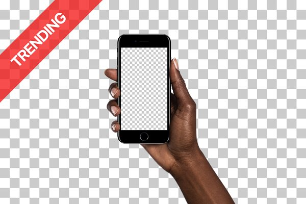 20x iPhone 7 mockups (Diverse Hands…