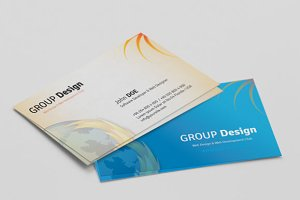 Group Dizay Design Business Card
