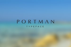 Portman Typeface