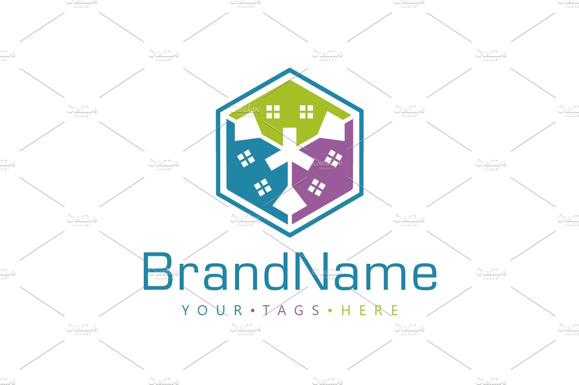 House Box Logo ~ Logo Templates ~ Creative Market on chart house, icon house, label house,