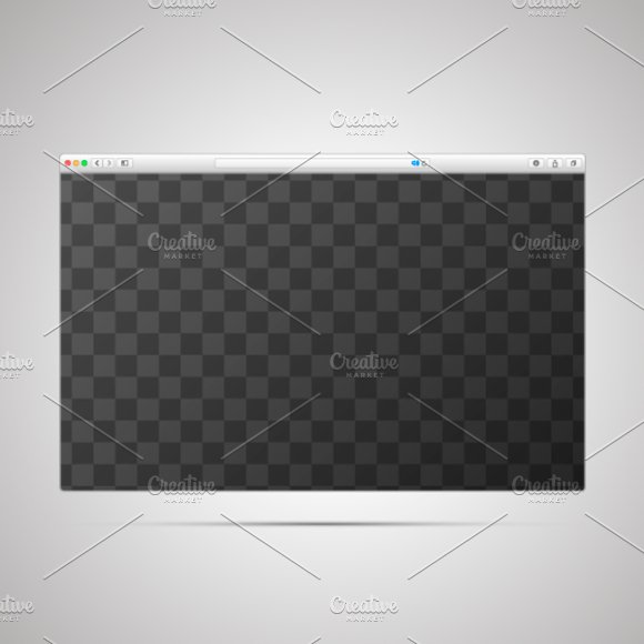 Download Browser window template