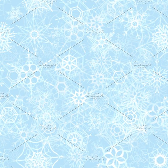 Frozen Snowflakes On Ice Background Graphic Patterns Creative Market Mesmerizing Ice Pattern