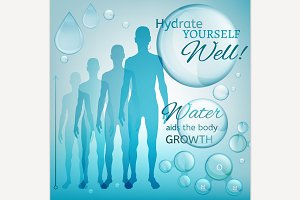 Hydrate Yourself Concept