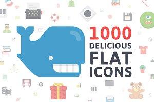 Flatilicious Icons