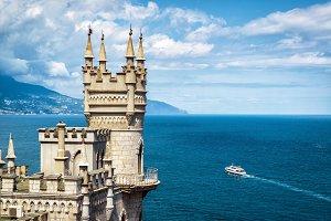 Castle Swallow's Nest in Crimea