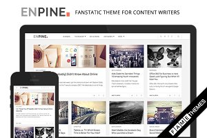 Enpine - Fanstatic Theme For Writers