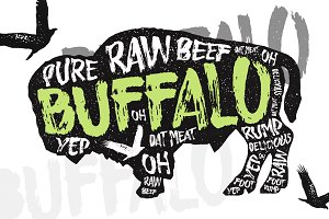 Buffalo - Display Typeface