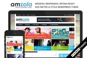 Amzola - Metro UI Style WP Theme