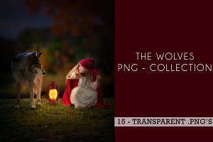 15 - PNG Wolves - Collection