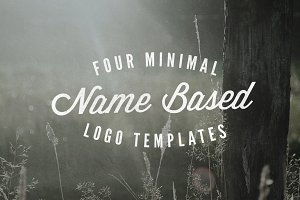 Four Name/Initial Based Logos
