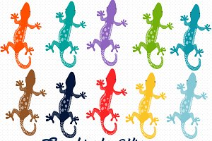 Lizard Colorful clipart