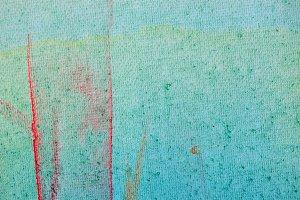 Smudged Paint Canvas