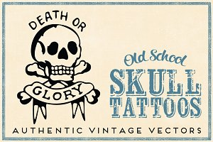 Retro Skull Tattoos Real Sailor