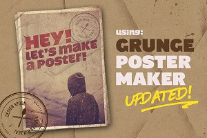 UPDATED! - Grunge Poster Maker