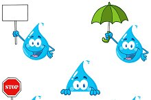 Water Drop Collection - 4