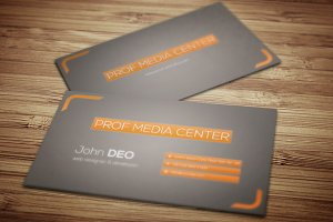 Prof Media Center Business Card