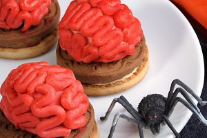 cookies   on Halloween