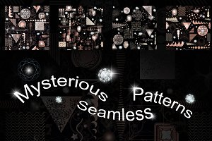 13 Mysterious seamless patterns