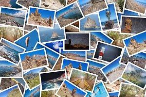 Collage of Tenerife travel photos