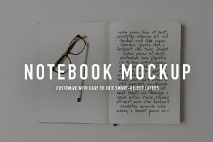 Notebook Styled Stock Photo + Mockup