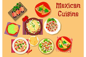 Mexican cuisine spicy cuisine