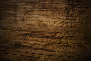 Dark Scratched Wooden Texture