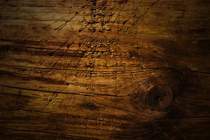 Scratched And Faded Wooden Texture