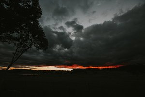 Dramatic Australia Sunset