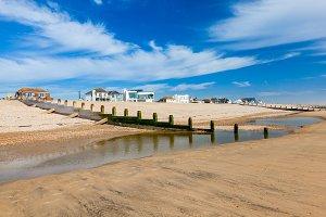 Camber Sands Beach England UK