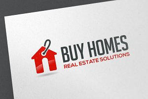 Buy Homes Logo Template