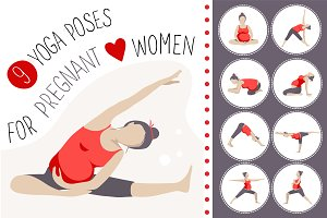 9 yoga poses for pregnant women