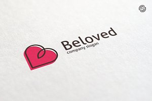 Beloved - Letter B Logo Templates