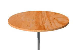 Wooden textured table