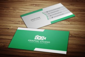 Business Card + Logo (Full Free) V.1
