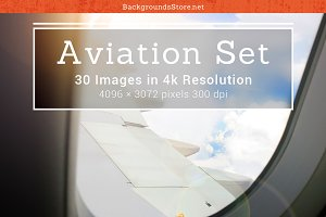Aviation Images Set