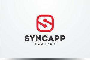 Sync app - Letter S Logo