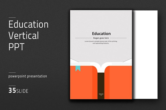 Education vertical ppt presentation templates creative market education vertical ppt presentations toneelgroepblik Images